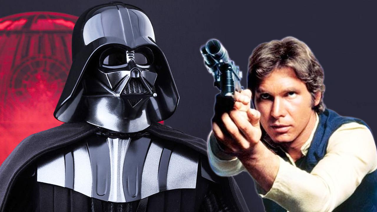 jedi e sith darth vader nello spin-off di star wars su han solo