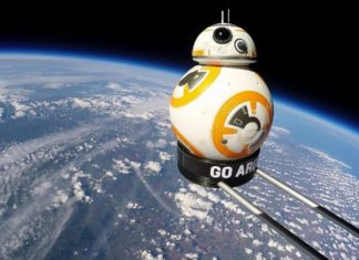 star wars bb-8 droide spazio argos giocattoli pubblciità