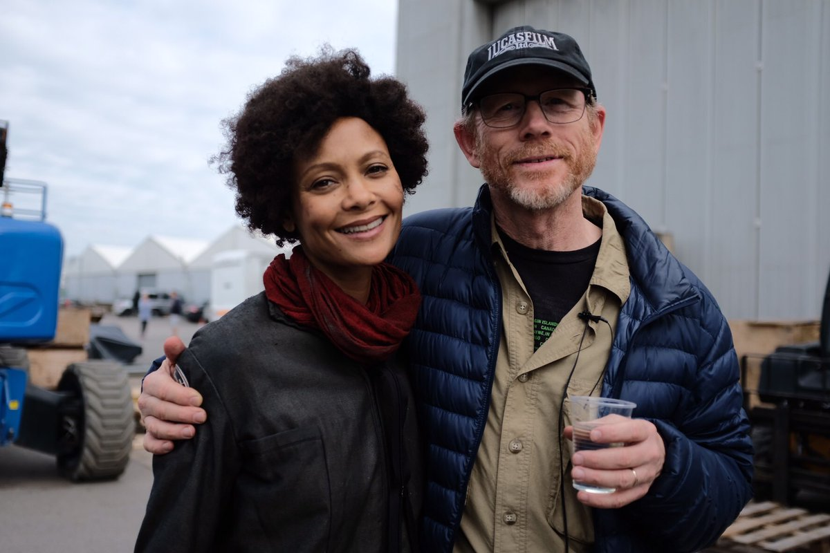 thandie newton attrice westworld ron howard spin-off star wars han solo