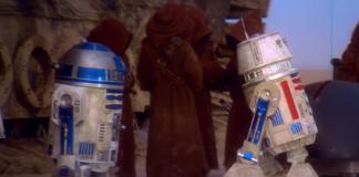 droide rosso in star wars episodio iv
