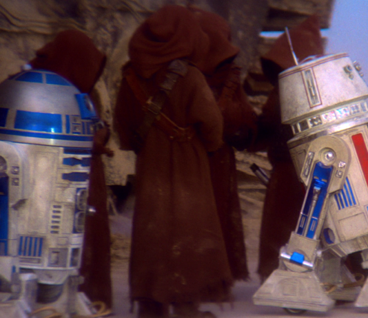 droide rosso in star wars episodio iv
