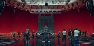 sala del trono di snoke the last jedi video dietro le quinte rian johnson