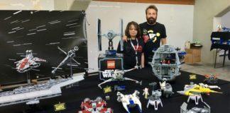 base di hoth ricostruita con i LEGO di star wars