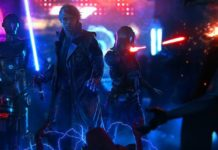 star wars cyberpunk artwork luke skywalker droidi