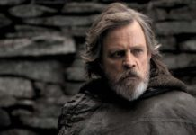 bimbo e mark hamill luke skywalker star wars the last jedi poster imax lato oscuro