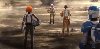 mandaloriani ezra sabine wren mandalore star wars rebels stagione 4