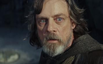 scena the last jedi la paura di Luke Skywalker nel trailer di Episodio VIII