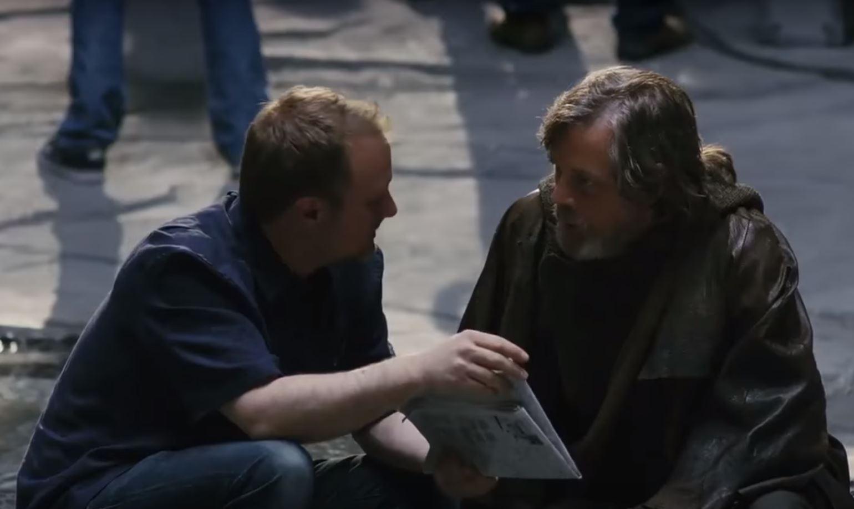 mark hamill luke skywalker regia rian johnson episodio viii star wars the last jedi