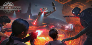 star wars secrets of the empire vr parco tema disneyland attrazione nuova