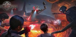 star wars secrets of the empire vr parco tema disneyland attrazione nuova