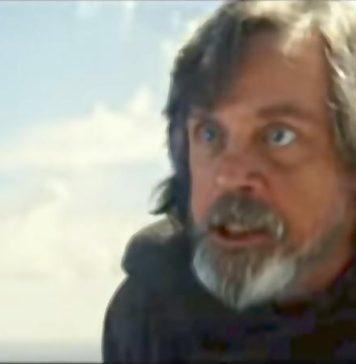 star wars the last jedi trailer spot tv luke skywalker rey