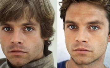 sebastian stan giovane luke skywalker in star wars