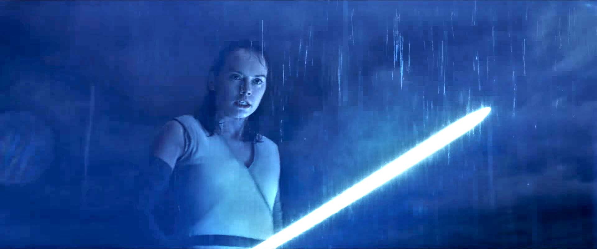 daisy ridley rey star wars the last jedi trailer 45 secondi rey