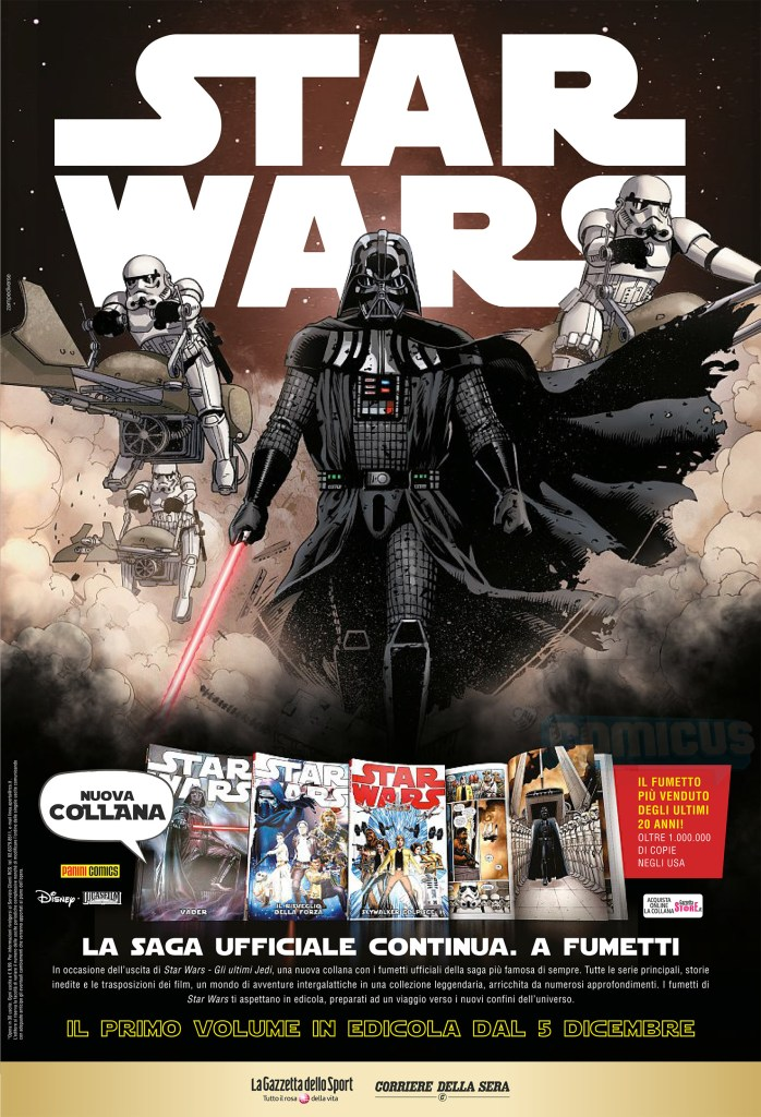 fumetti da La gazzetta di star wars