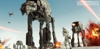 star wars battlefront 2 gioco ea at-at crait the last jedi