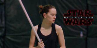 allenamento attori star wars the last jedi