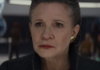 lucas scena di Leia in star wars the last jedi