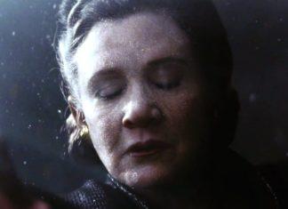 scena di leia nello spazio in episodio viii star wars