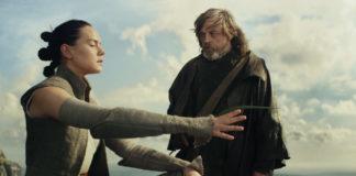 rey e luke star wars the last jedi e la forza