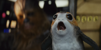 momenti comici in star wars the last jedi