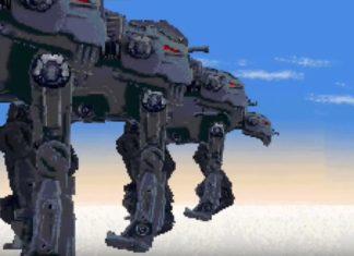 crait video 16-bit star wars the last jedi battaglia finale