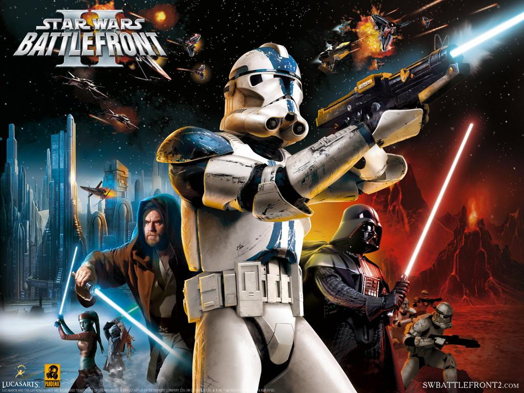 artwork star wars gioco 2005 battlefront ii