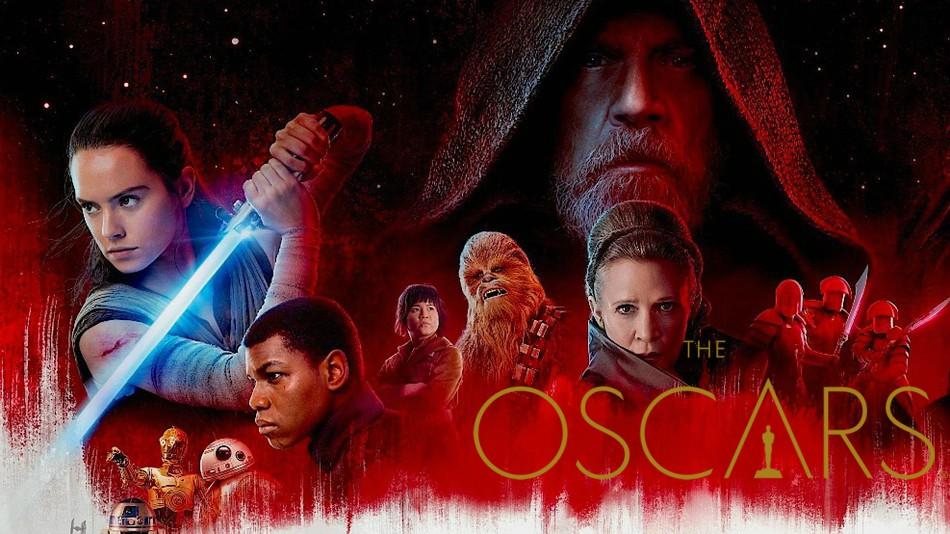 4 nomination agli oscar per star wars the last jedi