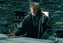 scena inedita luke skywalker the last jedi