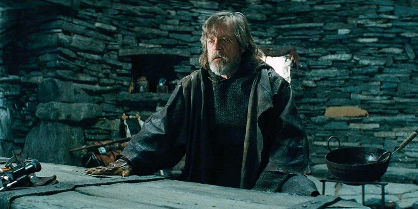 Mark Hamill: Luke negli Ultimi Jedi si è solo