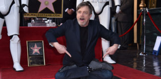 mark hamill stella sulla hollywood walk of fame