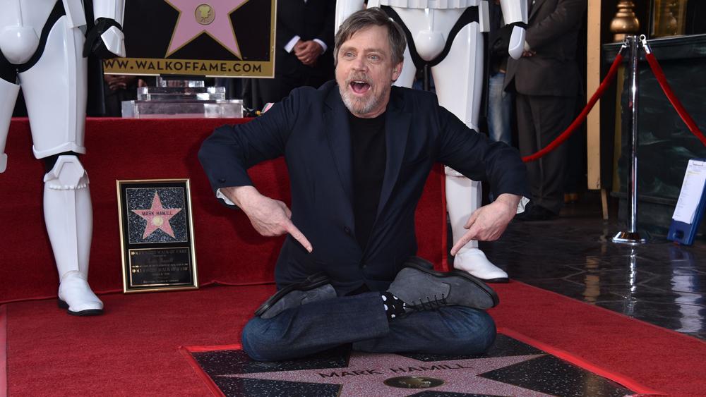 mark hamill stella sulla hollywood walk of fame