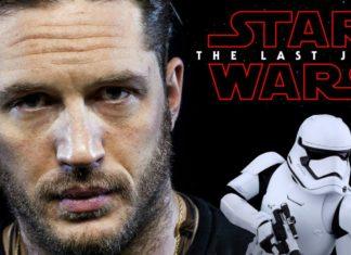 tom hardy e il video del suo cameo in star wars the last jedi