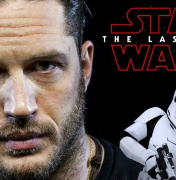 tom hardy e il video del suo cameo in star wars the last jedi