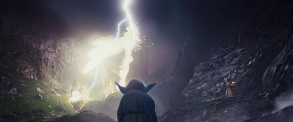 yoda fantasma di forza in episodio ix