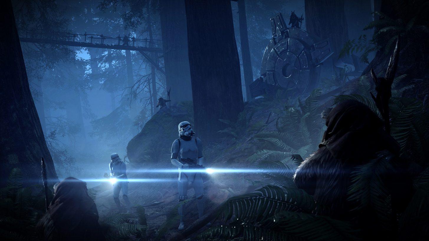 battlefront II star wars nuovo aggiornamento caccia ewok