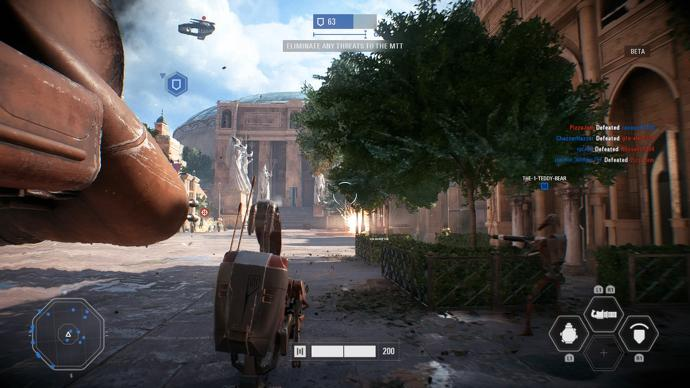 recensione b1 droide star wars battlefront ii multiplayer
