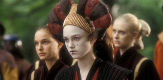 keira knightley sabè regina amidala in star wars episodio i