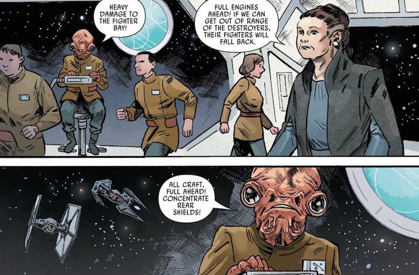 ammiraglio ackbar star wars ultime parole