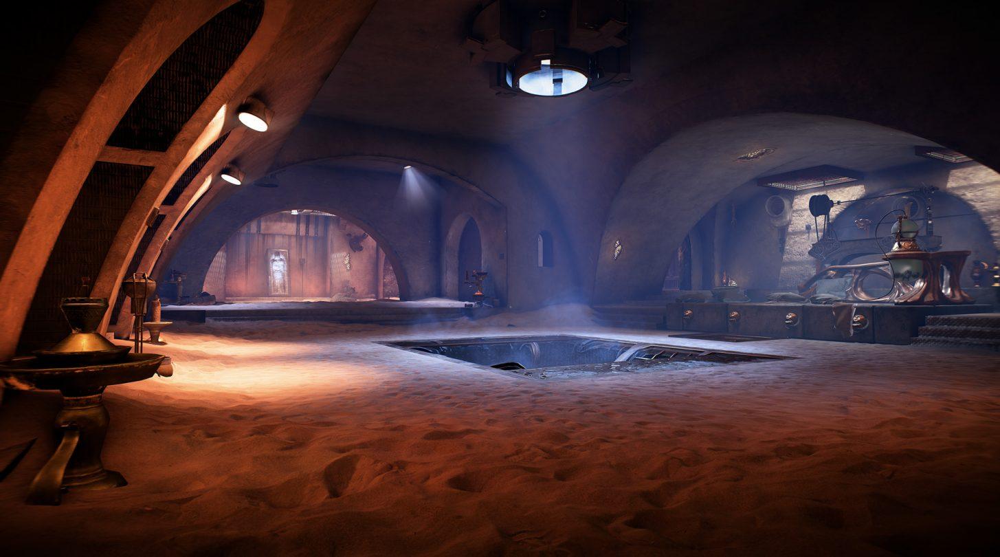 star wars battlefront ii palazzo jabba mappa solo