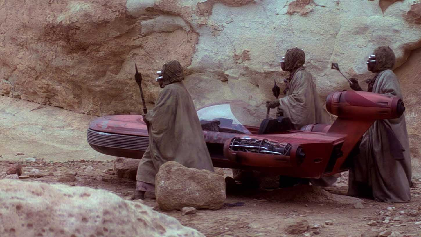 episodio iv star wars sabbipodi speeder