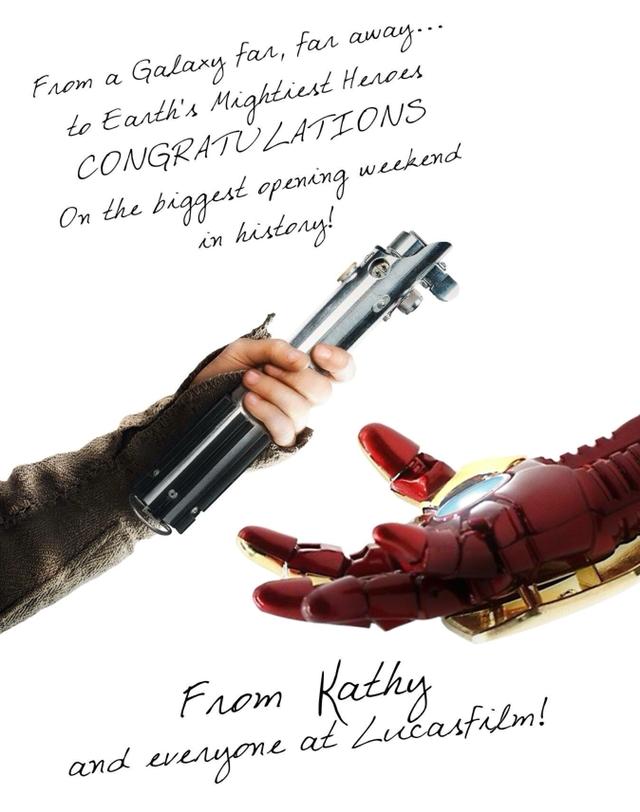 sorpasso infinity war di star wars