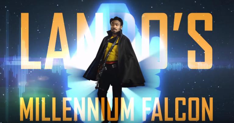 Donald Glover ci porta in tour sul Millennium Falcon