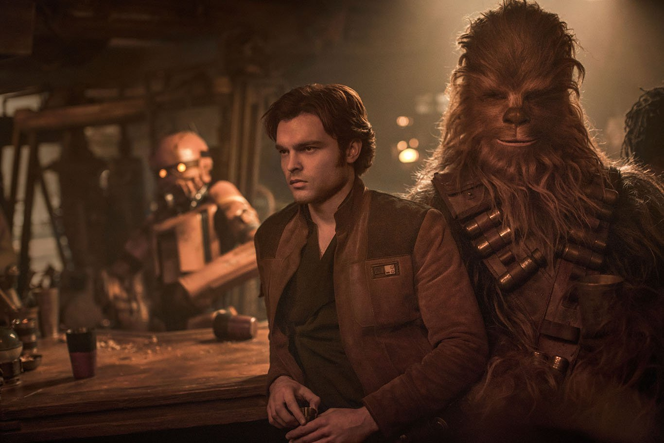 alden ehrenreich solo a star wars story han solo chewbacca