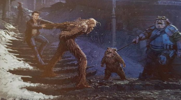 ewok chewbacca solo artwork