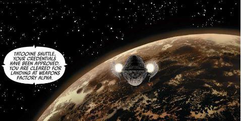 fumetti star wars skywalker colpisce