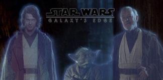 ologrammi e fantasmi di forza nei parchi a tema star wars