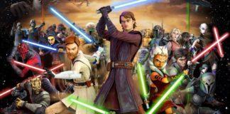 personaggi the clone wars dieci anni serie tv disney lucasfilm comic con