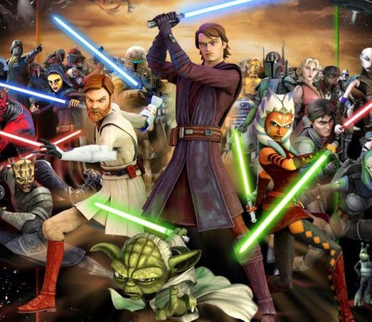 personaggi the clone wars dieci anni serie tv disney lucasfilm comic con