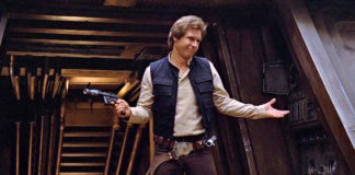 venduto all'asta il blaster di han solo di star wars