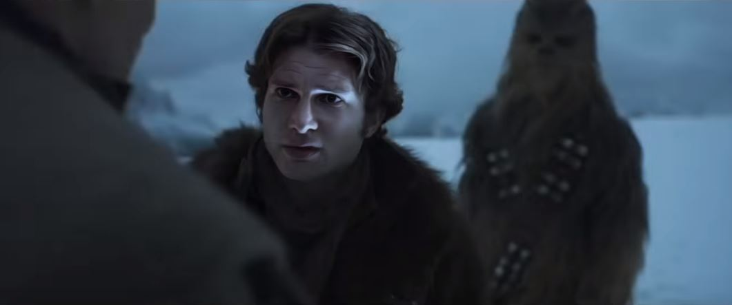 trailer solo a star wars story harrison ford alden ehrenreich